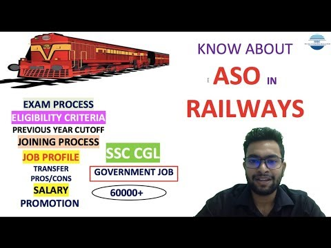 Assistant Section Officer In Railway Job Profile| Exam Process | Salary | Promotion