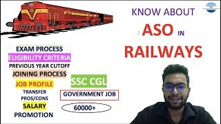 Assistant Section Officer in railway Job Profile  Exam Process   Salary   Promotion