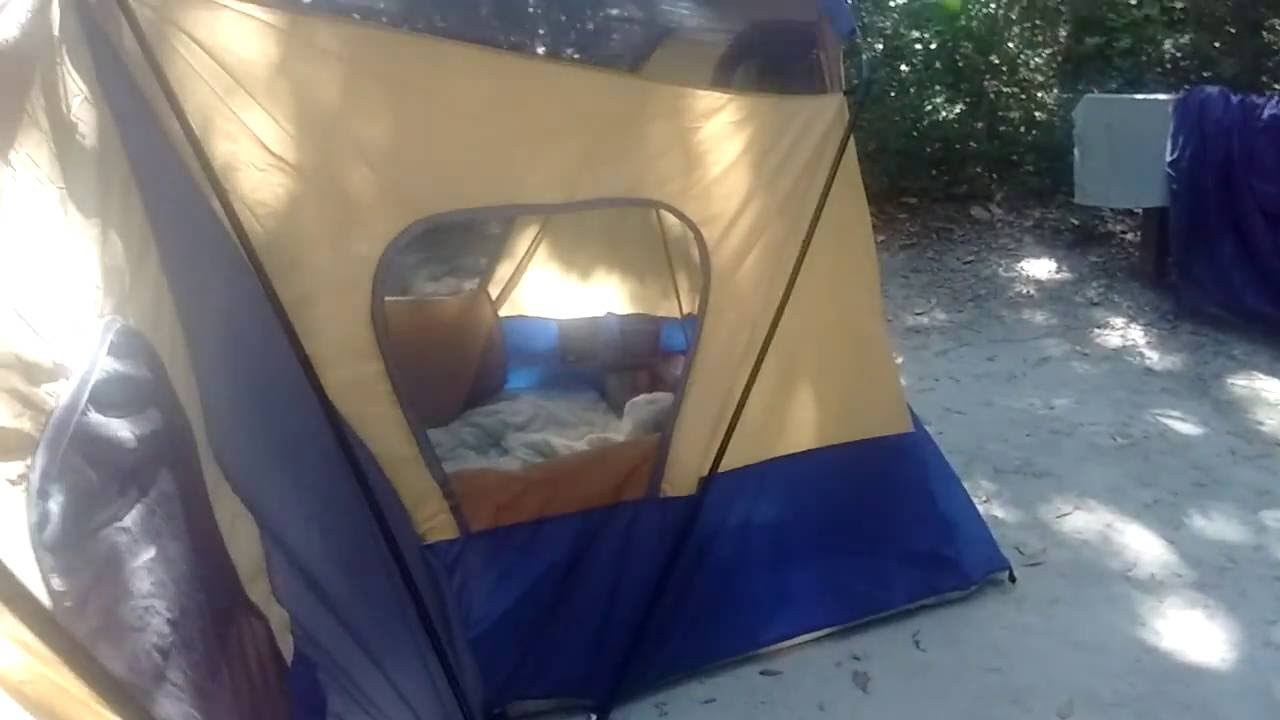Ozark Trail 14 Person Base Camp Cabin Tent review part one