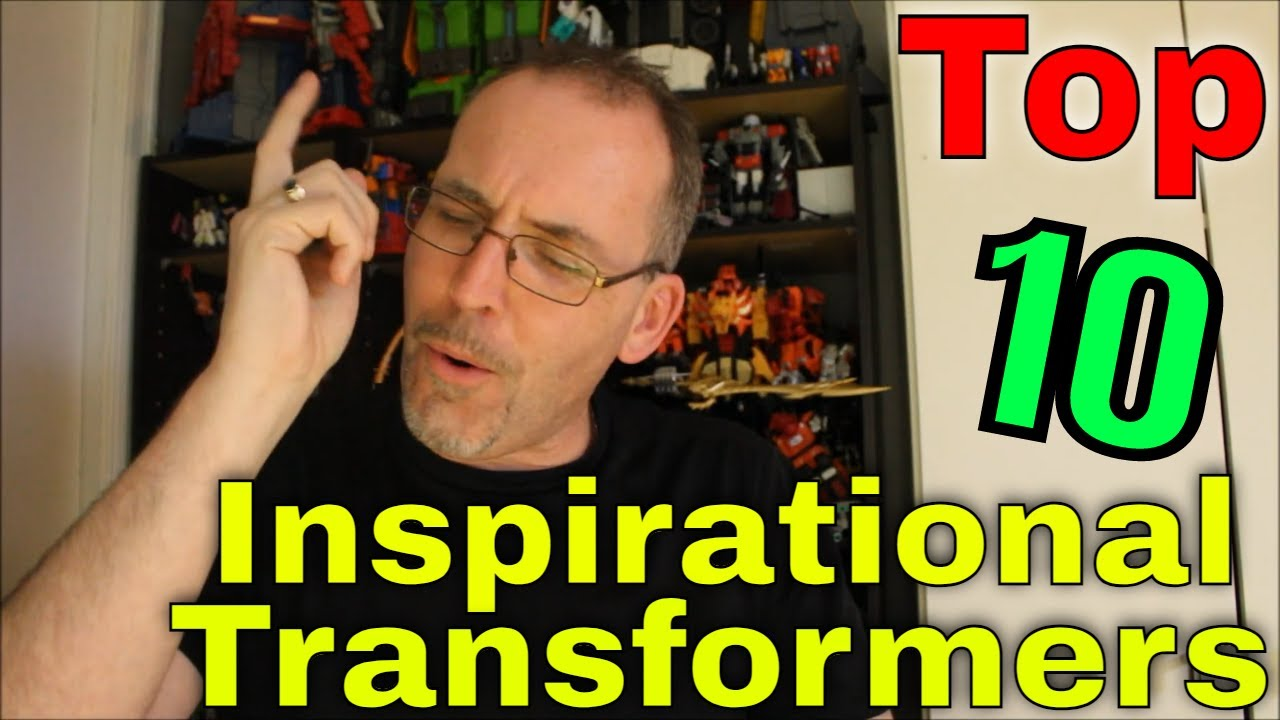 GotBot Counts Down: Top 10 Most Inspirational Transformers