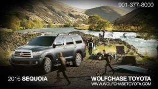 The 2016 Toyota Sequoia | Wolfchase Toyota