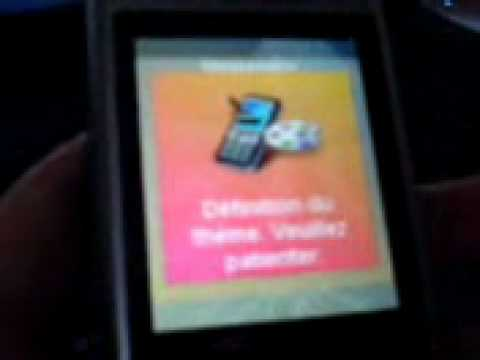 Sony Ericsson W760i menu flash modified