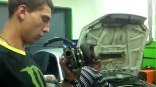 Subaru team Krasnoyarsk. Замена турбины для замера.