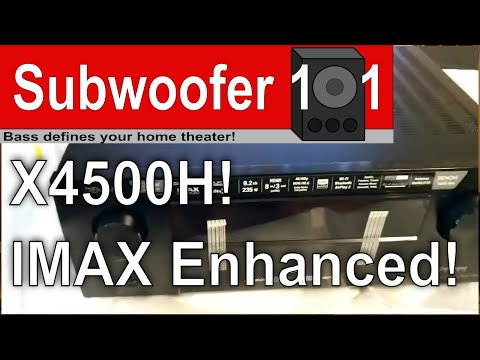 Denon X4500H AVR and IMAX Enhanced Review! Goldilocks AVR