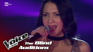 "Simona Marcelli ""As Long As You Love Me"" - Blind Auditions #2 - The Voice of Italy 2018"