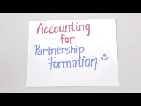 ACCTBA2 - Accounting for Partnership Formation