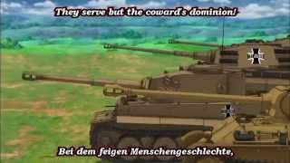 Girls Und Panzer - AMV - Kuromorimine - Wohlauf Kameraden, aufs pferd