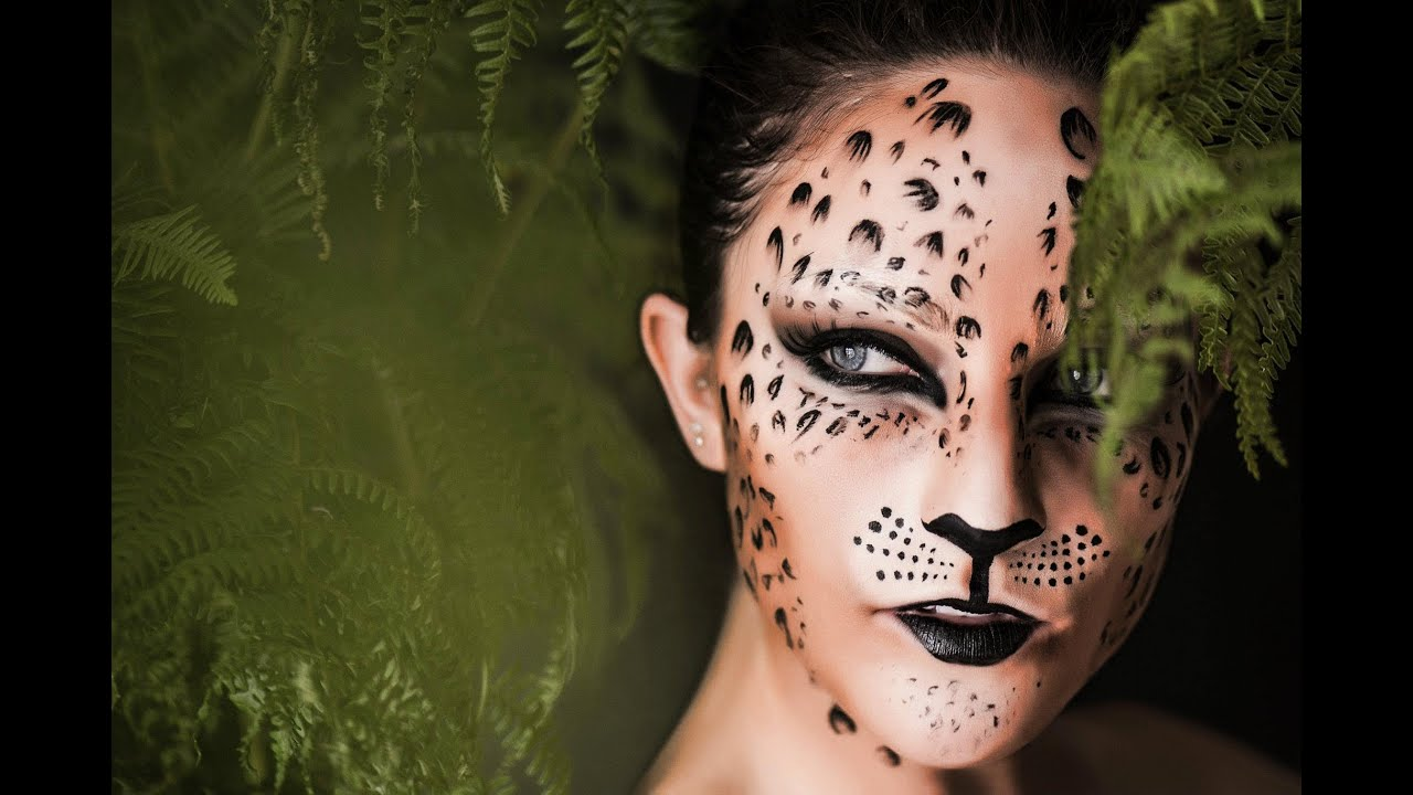 Clown Schminken Leicht Leopard Print Make Up Tutorial Shonagh Scott Showme Makeup