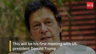 Pakistan PM Imran Khan to make his maiden visit to the United States today