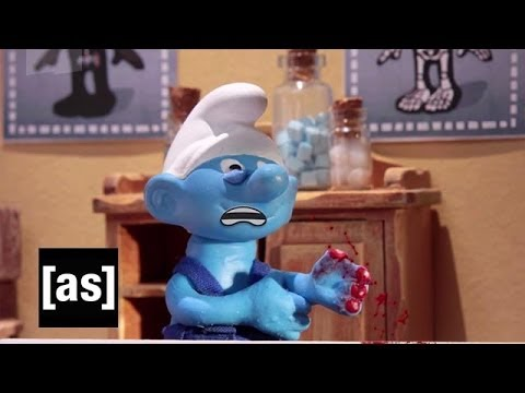 Undercover Smurf Boss | Robot Chicken | Adult Swim