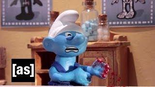 Undercover Smurf Boss | Robot Chicken | Adult Swim thumbnail