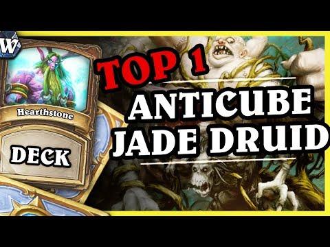 TOP1 Anti Cubelock JADE DRUID - Hearthstone Deck Wild (K&C)