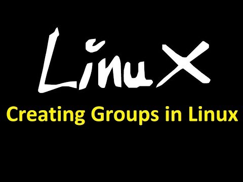 Creating Group in Linux