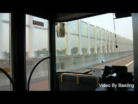 NLB Bus MN07 @ B2 新大嶼山巴士 KY9727 @ B2 深圳灣口岸-天水圍站 2 - YouTube