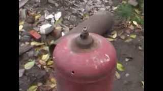 Котёл бубафоня начало строительства. Бубафоня(Наступила осень и я озаботился проблемой отопления http://youtu.be/7kDgIIk_lYw дома родителей. Хобби, хэнд мэйд, ремес..., 2013-11-05T18:50:40.000Z)