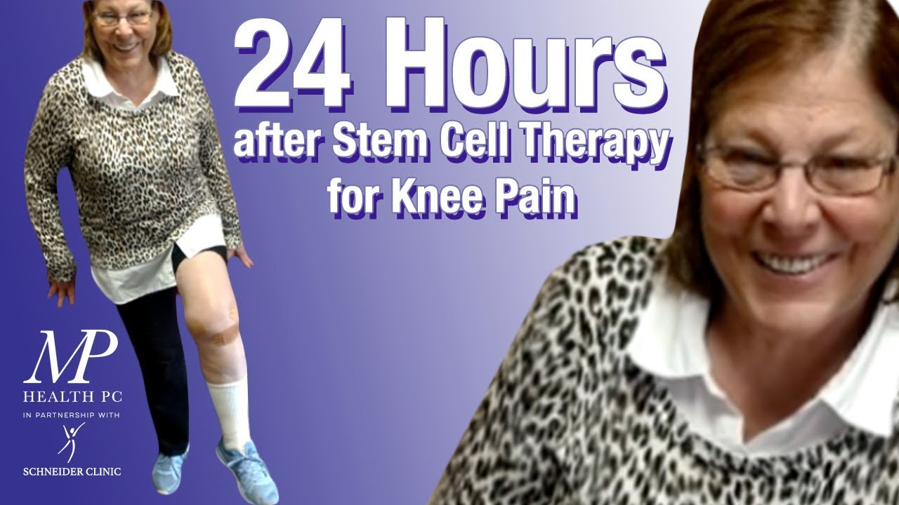 24 Hours After Stem Cell Therapy For Knee Pain Youtube