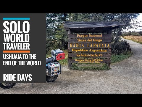 Ride Day 76: Ushuaia to The End of the World - Tierra del Fuego, Argentina