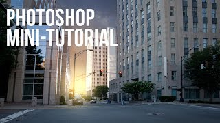Photoshop Mini-Tutorial: Enhance a City Scene