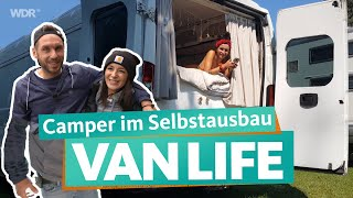 Camper expansion - from a cheap box van to an individual VanLife dream | WDR Reisen
