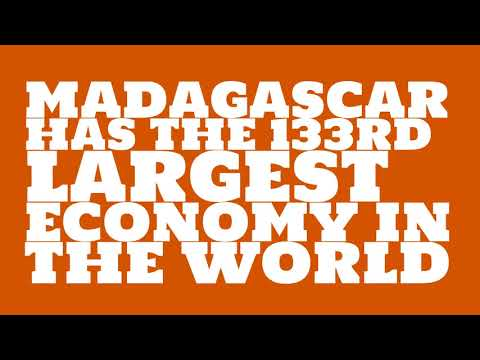 How big is the economy of Madagascar?