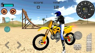 Motocross Beach Jumping 3D Game | Android GamePlay - Motor Cycle Racer Game - Bike Games 2020