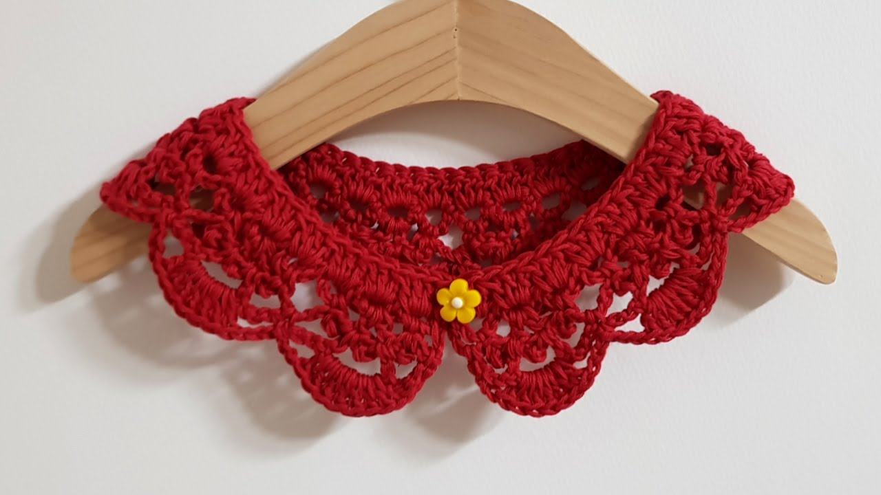 #148 Crochet collar - 아이 케이프[Eng]