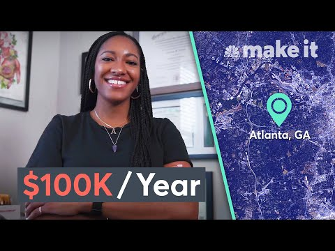 Living On $100K A Year In Atlanta | Millennial Money