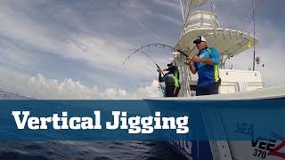 Crazy Vertical Jigging Action; How To Vertical Jig