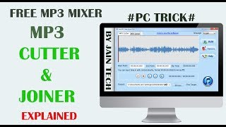 Gambar cover Free Mp3 Cutter & Joiner | Mix Your Songs | Pc Trick#
