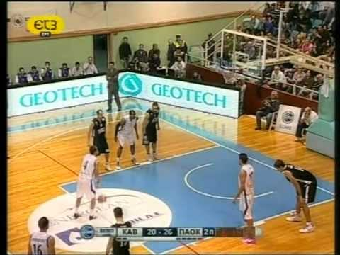 Kavala BC vs PAOK Thessaloniki (Basket League ● G2 ● 30/10/11)