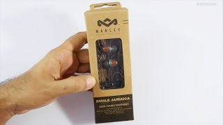 House of Marley Smile Jamaica Wooden Budget Earphones Review