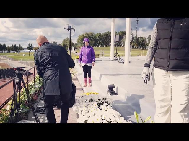 Bulduru floristi rotā Aglonu pāvesta vizītei - 3. diena