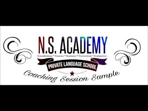 NSA: Language Coaching - Session Sample - * Somebody Is Paying For Your Free Stuff * (094)