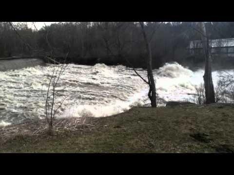 Bouquet River Willsboro, NY Flooding