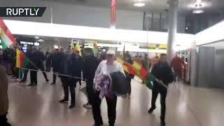 Драка с участием турок и курдов произошла в аэропорту немецкого Ганновера