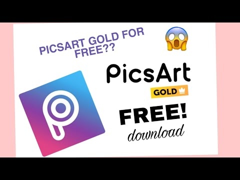 HOW TO DOWNLOAD PICSART GOLD FOR FREE!|Philippines♡