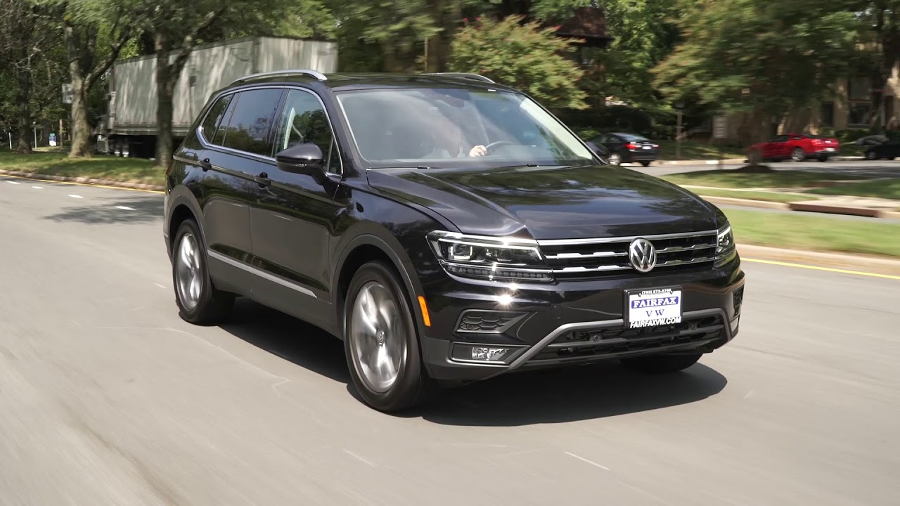2018 vw tiguan test drive review youtube. Black Bedroom Furniture Sets. Home Design Ideas