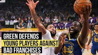Draymond Green defends Marquese Chriss against poorly run franchises