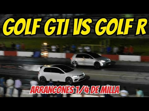 Golf Gti Vs Camaro Z28 Vs Golf R Vs Mustang Gt Arrancones Autodromo Culiacan