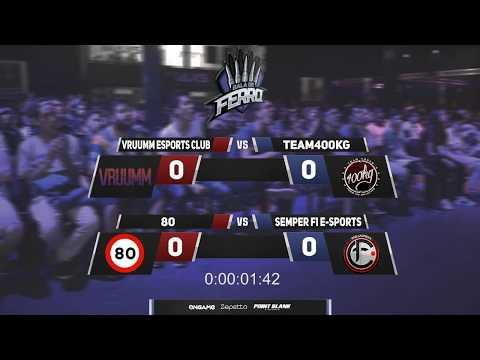 Liga Bala de Ferro | Team400KG x VRUUMM eSports Club | Semper Fi e-Sports (A) x 80