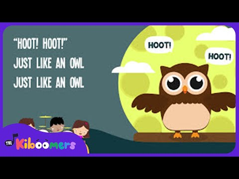 Owl Song for Kids | Animal Songs for Children | The Kiboomers