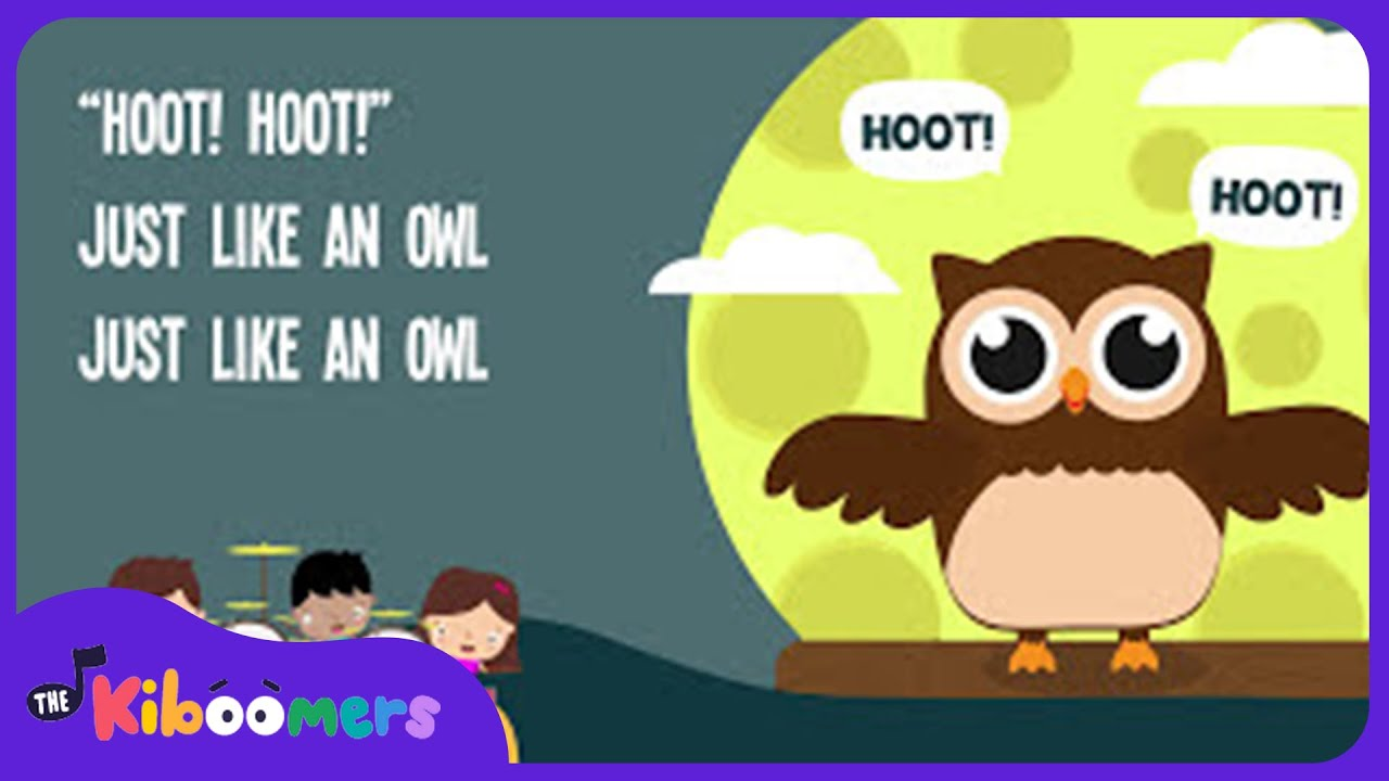 owl song for kids animal songs for children the kiboomers youtube - Owl Pictures For Kids