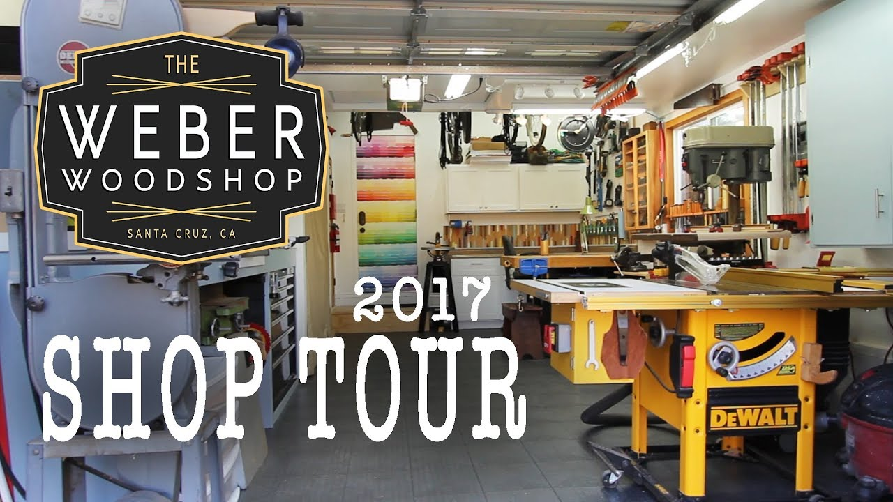the ultimate one car garage woodshop tour - Garage Woodshop
