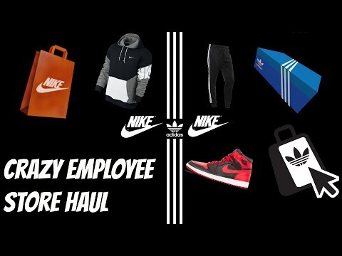CRAZY NIKE AND ADIDAS EMPLOYEE STORE HAUL – STUFF FOR UNDER RETAIL