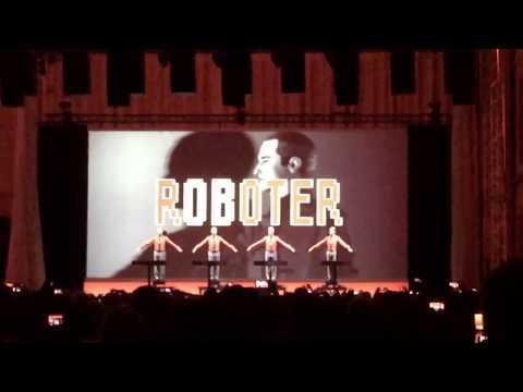 Kraftwerk live @Albertinum Dresden