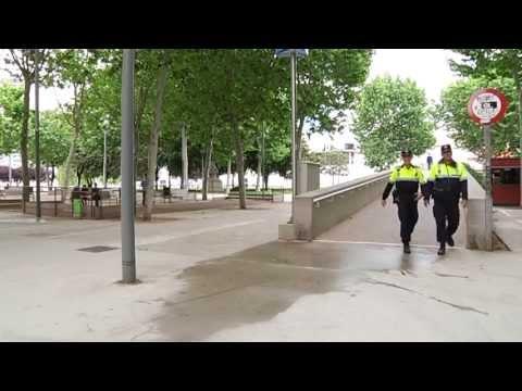 Incivisme al Parc de l'Espanya Industrial / Incivismo en el Parque de la España Industrial