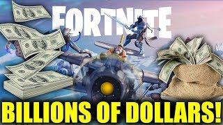 Fortnite Creator Made 3 BILLION Dollars of Profit in 2018
