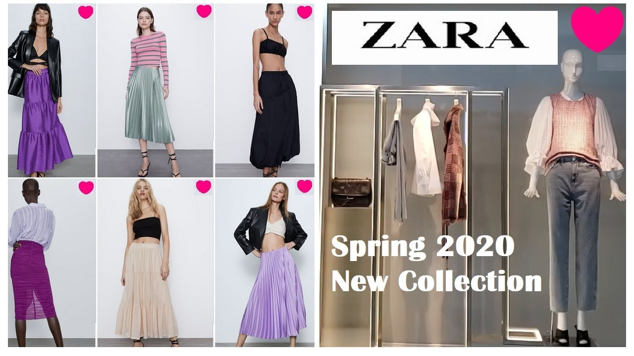 Zara New Collections Women Fashion 2020 Zara Spring Trends Zara Come Shop With Me Spring 2020 Youtube