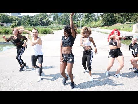 African Bad Gyal - WizKid   Kafeela Ade & Wild Out Crew   Summer Jam Workshop 2k17