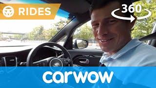 Kia Carens 7 Seater 2017 360 degree test drive | Passenger Rides